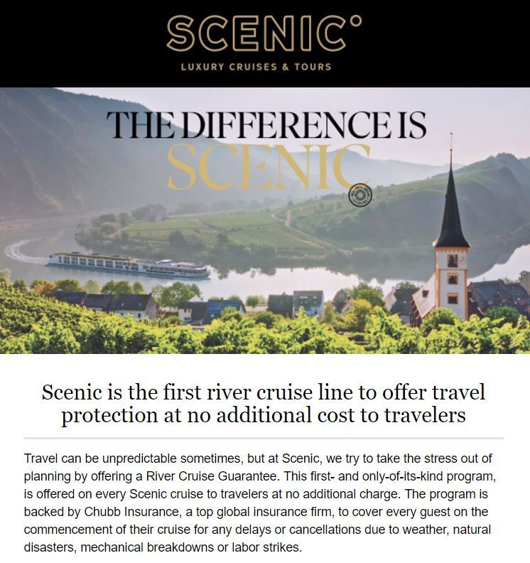 Scenic gives new meaning to All Inclusive!